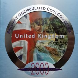 2000 Brilliant Uncirculated Coin Collection for sale